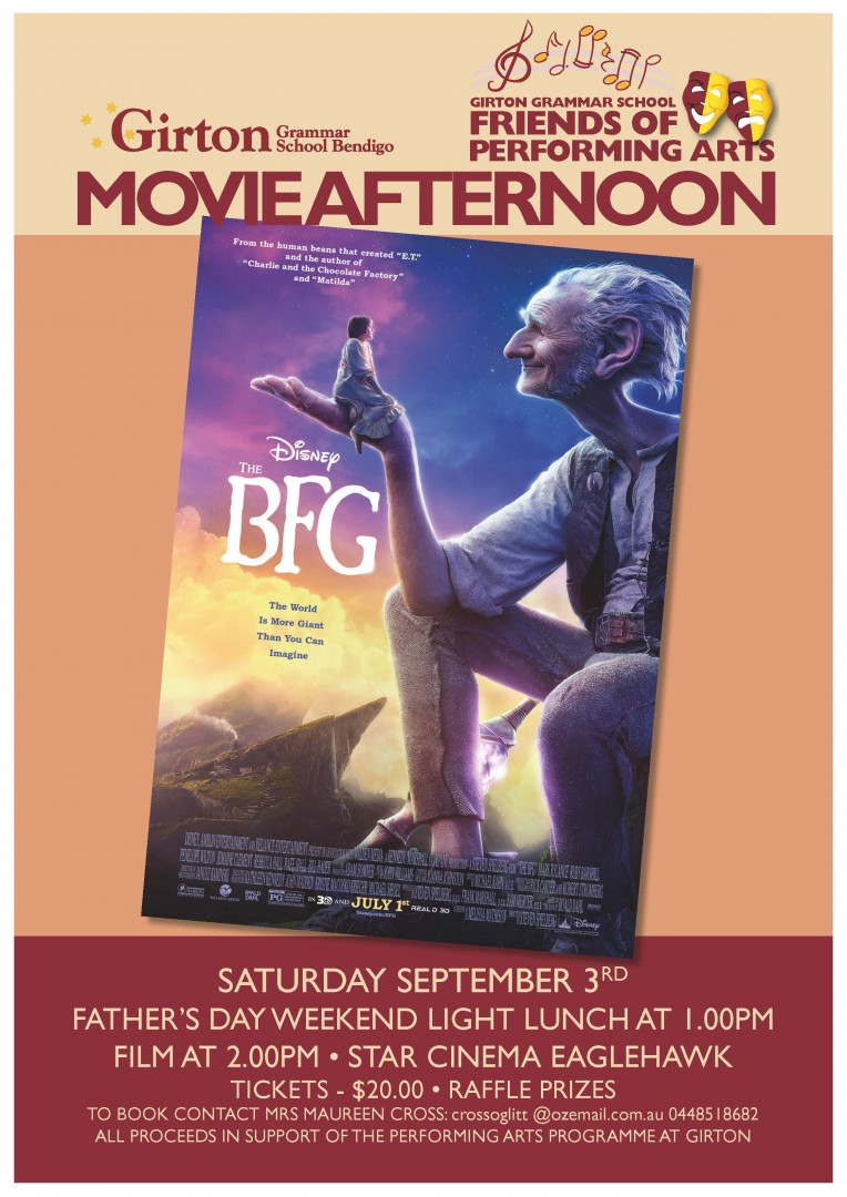 GGS FOPA Movie Afternoon Sept 2016 Poster